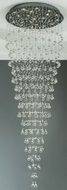 PLC 81729-PC Beverly Crystal Pendant Light - 36 inches wide