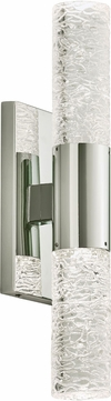 PLC 84418PC Ayako Contemporary Polished Chrome LED Wall Sconce