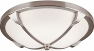 PLC 84455SN Adivina Modern Satin Nickel LED 14  Flush Ceiling Light Fixture