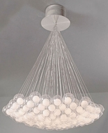 PLC 86628-SN Hydrogen 85-Light Chandelier