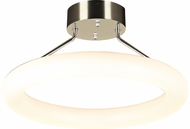 PLC 88828PC Anila Modern Polished Chrome LED Ceiling Lighting Fixture