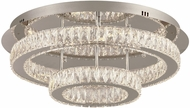 PLC 90076PC Equis Polished Chrome LED Ceiling Light