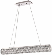 PLC 90106PC Miramar Polished Chrome LED Island Lighting