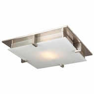 PLC 904-SN Polipo Contemporary Satin Nickel Ceiling Lighting