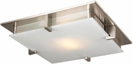 PLC 907SNLED polipo Modern Satin Nickel LED 20  Home Ceiling Lighting