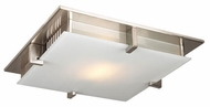 PLC 908-SN Polipo Ceiling Light in Satin Nickel