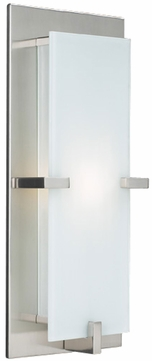 PLC 909-SN Polipo Wall Sconce in Satin Nickel