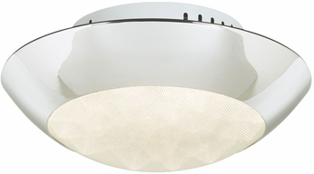 PLC 91102PC Rolland Contemporary Polished Chrome LED Ceiling Lighting
