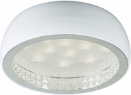 PLC 91108WH Briolette White LED Ceiling Light Fixture