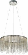 PLC 91154PC Davenport Contemporary Polished Chrome LED Ceiling Light Pendant