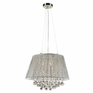 PLC 92903PC Airiux Polished Chrome Ceiling Pendant Light