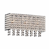 PLC 92921PC Alexa Polished Chrome 14  Vanity Light