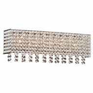 PLC 92923PC Alexa Polished Chrome 22  Bath Light Fixture