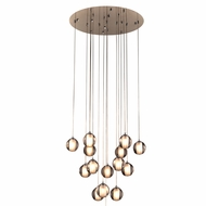 PLC 92935PC Nuetron Modern Polished Chrome Multi Pendant Lighting