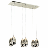 PLC 92946PC Modo Polished Chrome Multi Lighting Pendant