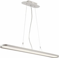 PLC 92951WH Crispin Modern White LED Kitchen Island Lighting