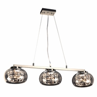 PLC 92953PC Rokka Polished Chrome Kitchen Island Light