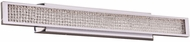 PLC 92958PC Commodore Modern Polished Chrome LED 36  Bath Light Fixture