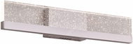 PLC 92963PC Bernice Modern Polished Chrome LED 24  Bathroom Light Fixture