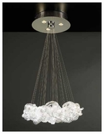 PLC 96975PC Elegance 3-light Contemporary Chandelier Large