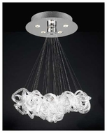 PLC 96978PC Elegance 5-light Contemporary Chandelier