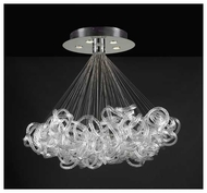 PLC 96979PC Elegance 5-light Contemporary Chandelier