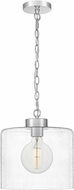 Quoizel ABR1512C Abner Contemporary Polished Chrome Mini Drop Ceiling Lighting