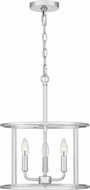 Quoizel ABR2814C Abner Contemporary Polished Chrome Drop Ceiling Light Fixture