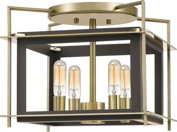Quoizel ACT1716WT Architect Contemporary Western Bronze Ceiling Lighting