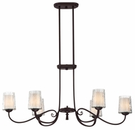 Quoizel ADS639DC Adonis 19  Tall Kitchen Island Lighting Chandelier