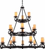 Quoizel AME5018IB Armelle Imperial Bronze Lighting Chandelier