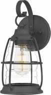 Quoizel AMR8406MB Admiral Mottled Black Outdoor Wall Sconce