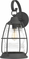 Quoizel AMR8410MB Admiral Mottled Black Outdoor Wall Lighting