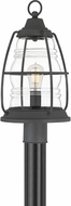 Quoizel AMR9010MB Admiral Mottled Black Exterior Post Lighting
