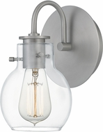 Quoizel ANW8601AN Andrews Contemporary Antique Nickel Wall Sconce