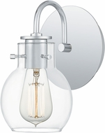 Quoizel ANW8601C Andrews Contemporary Polished Chrome Wall Lamp