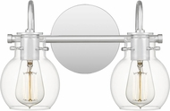 Quoizel ANW8602C Andrews Modern Polished Chrome 2-Light Bathroom Lighting