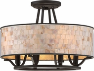 Quoizel AS1716PN Aristocrat Palladian Bronze Ceiling Light