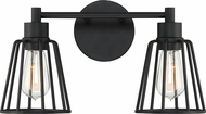 Quoizel ATT8602EK Atticus Contemporary Earth Black 2-Light Bathroom Lighting