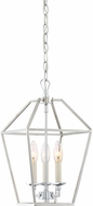 Quoizel AVY5203PK Aviary Modern Polished Nickel 9.5  Foyer Lighting