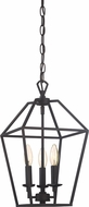 Quoizel AVY5203PN Aviary Contemporary Palladian Bronze 9.5  Foyer Light Fixture