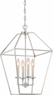 Quoizel AVY5204PK Aviary Modern Polished Nickel 13  Foyer Lighting Fixture