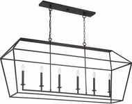 Quoizel AVY654PN Aviary Contemporary Palladian Bronze Kitchen Island Lighting