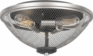 Quoizel AW1715MB Awning Contemporary Mottled Black Ceiling Light