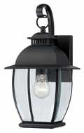 Quoizel BAN8407K Bain 15 Inch Tall Transitional Outdoor Sconce Lighting - Small