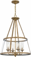 Quoizel BAW1820WS Barlow Modern Weathered Brass Pendant Lighting