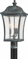 Quoizel BDS9010AGV Bardstown Traditional Aged Verde Exterior Post Lighting