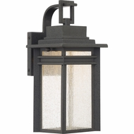 Quoizel BEC8406SBK Beacon Stone Black LED Exterior 6  Wall Sconce