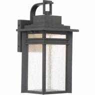 Quoizel BEC8408SBK Beacon Stone Black LED Outdoor 7.5  Wall Lamp