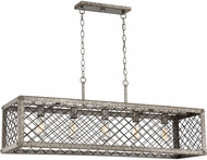Quoizel BH542RG Booth Contemporary Rustic Gold Kitchen Island Light